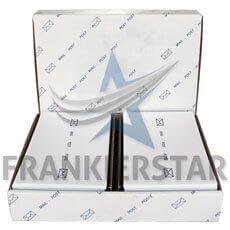Frankierstar 1.000 Frankieretiketten 165x45mm doppelt