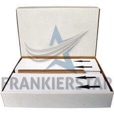 Frankierstar 1.000 Frankierstreifen 152x39mm passend in Neopost IJ-35, IJ-45, IS-420, IS-440, IS-480, IN-600, IN-700, IS-5000, IS-6000 Frankiermaschine