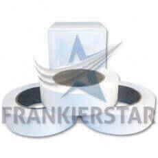 Frankierstar 3 Rollen Frankieretiketten selbstklebend passend in Pitney Bowes Connect+, SendPro P Frankiermaschine